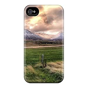 Hot Fashion BMNDdQe438CARae Design Case Cover For Iphone 4/4s Protective Case (beautiful Lscape In Icel Hdr)