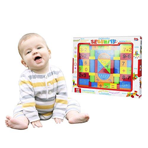 Large Soft Building Blocks Set Educational Preschool Learnin