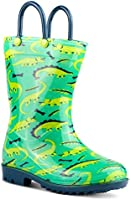 Chillipop Children's Rain Boots Little Kids & Toddlers, Boys & Girls