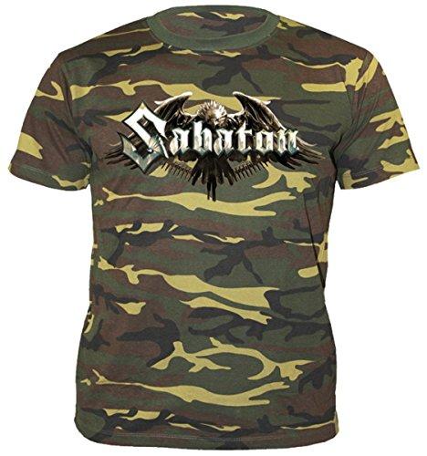 Herren T-Shirt Sabaton - Inmate Camouflage - NUCLEAR BLAST - 2292