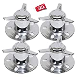 Center Cap Spinners Caps 3'' Dia Push Through Spinner Chrome Steel Durable And Quality - Skroutz