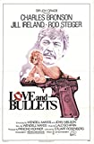 """Love and Bullets 1979 Authentic 27"""" x 41"""" Original Movie Poster Charles Bronson Drama U.S. One Sheet"""