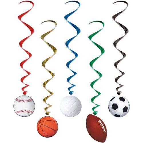 Sports Whirls   (5/Pkg) ()