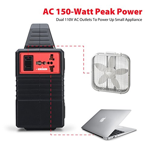 100 Watt Portable Generator Power Station 40800mah 151wh
