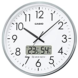 CASIO ( Casio ) radio analog wall clock temperature and humidity display office type IC-2000J-8JF IC-2000J-8JF