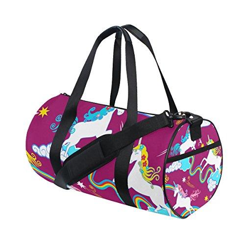 para Hombre Mnsruu de Deporte ISAOA Bolsa Diseño y de Unicornio Mujer XXqPI6