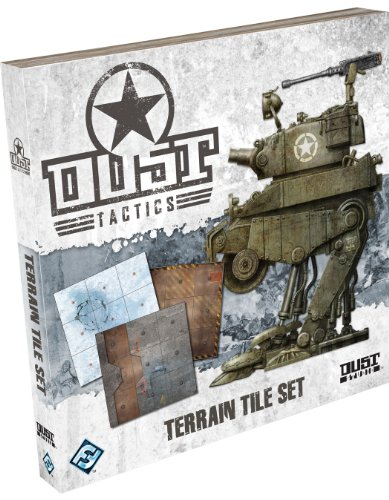 Dust Tactics Terrain Tile Set by Fantasy Flight Games