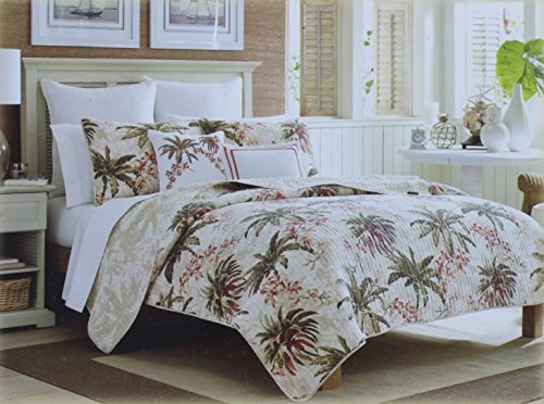 Tommy Bahama Twin Size Quilt from the Bonny Cove Collection TB309T SKU (Dragonflies Bedding Collection)