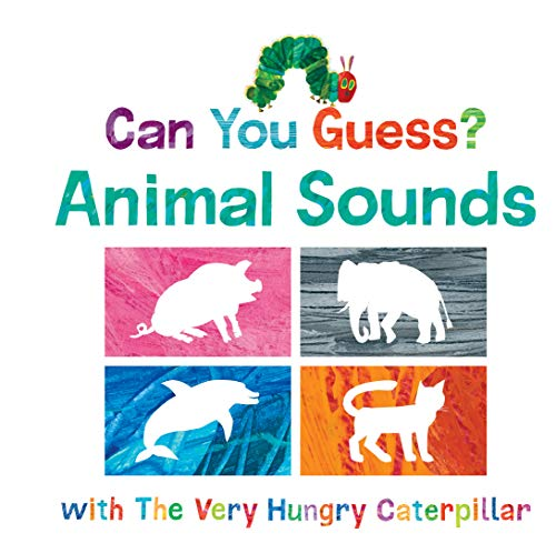 Book Cover: Can You Guess? Animal Sounds with The Very Hungry Caterpillar