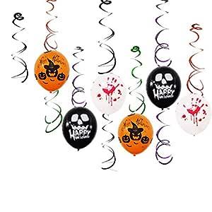 TAOtTAO 14 Productos Combinación Globo Halloween Celebración ...
