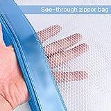 Zipper File Bags,izBuy 3Pcs Clip-on Zippered