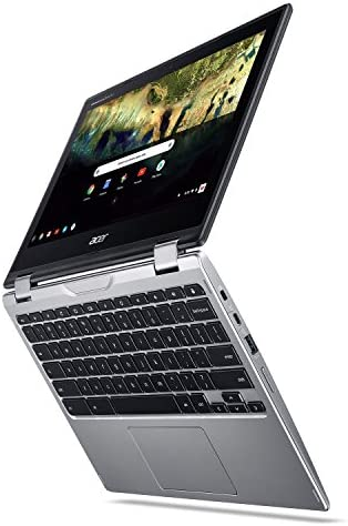 Acer Chromebook Spin 11 CP311-1H-C5PN Convertible Laptop, Celeron N3350, 11.6″ HD Touch, 4GB DDR4, 32GB eMMC, Google Chrome 519Bhw4YSxL