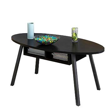 Table Basse Espace Noir En Trois Dimensions Stockage