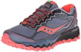 Best Trail Running Shoes - Saucony Women's Peregrine 6 Trail Running Shoe, Grey/Pink Review