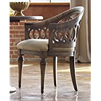 Hooker Furniture Melange Cambria Dining Chair in Walnut