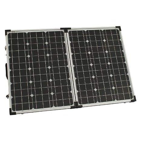 for camper caravan boat or any other 12V//24V system without a solar charge controller 120W 12V//24V folding solar panel German solar cells