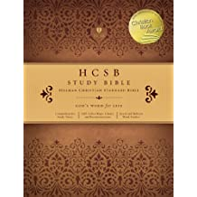 HCSB Study Bible, Mantova Brown LeatherTouch Indexed