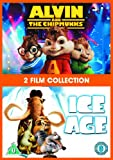 Alvin And The Chipmunks / Ice Age 1 Double Pack [DVD] [Import]