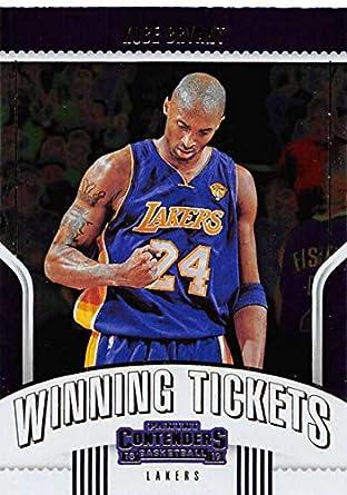 b7cb361615b 2018-19 Panini Contenders Winning Tickets #26 Kobe Bryant Los Angeles  Lakers NBA Basketball