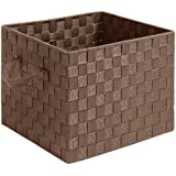 Whitmor 6581-2024-JAVA  Woven Strap Collection, Woven Strap Crate, Java