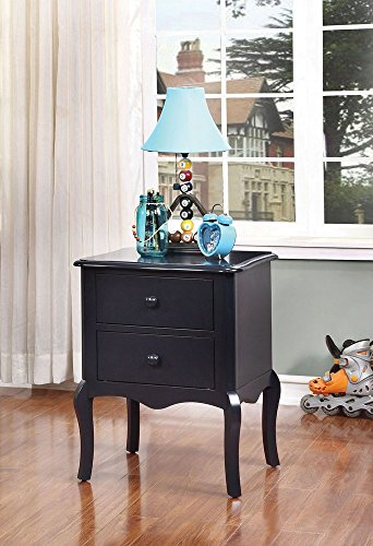247SHOPATHOME IDF-AC325BL Childrens, nightstand, Blue by 247SHOPATHOME