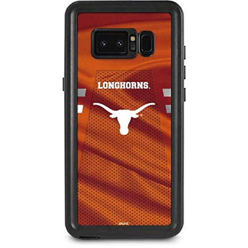 University of Texas at Austin Galaxy Note 8 Case - Texas Longhorns Jersey | Schools X Skinit Waterproof Case ()