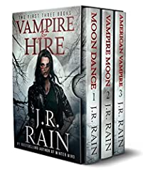 Vampire For Hire by J.R. Rain ebook deal