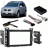 Fits Pontiac Torrent 2006 Double DIN Stereo Harness Radio Install Dash Kit