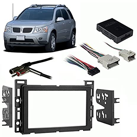 519BkSVbH4L._SY463_ amazon com fits pontiac torrent 2006 double din stereo harness 2006 pontiac torrent stereo wiring harness at bayanpartner.co