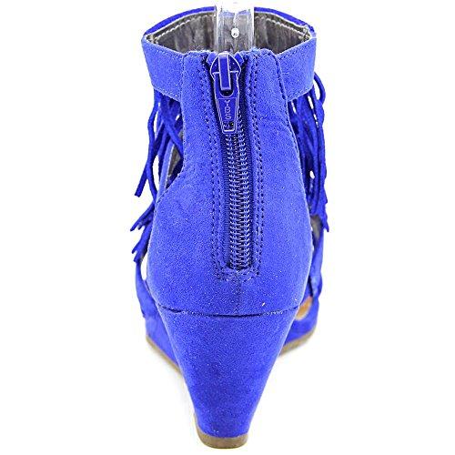 Material Girl Hannah Donna Camoscio sintetico Sandalo con la Zeppa