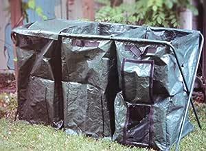 J.W. compostador compostador con Estructura de Metal y 3 Compost ...