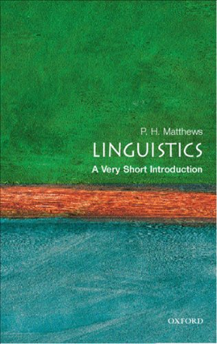Linguistics: A Very Short Introduction (Very Short Introductions)