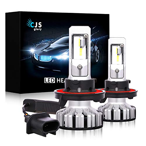 Replacement Led Headlight (LED Headlight Bulbs H13/9008,10000LM CSP Chips Extremely Bright 6000K (Cool White) All-in-One Anti-Flicker Conversion Kit HID or Halogen Headlight Replacement - 2 Years Warranty)