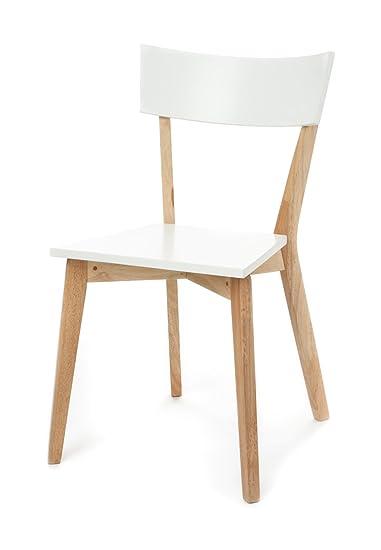 Wink design, Stensele ,Set 2 Sedie, Legno, Bianco: Amazon.it: Casa e ...