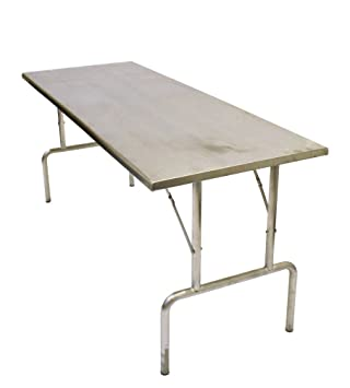 X Stainless Steel Kitchen Table Kitchen Worktop Kitchen - 6ft stainless steel table