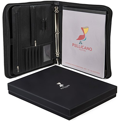 Original Leather Portfolio Case Writing