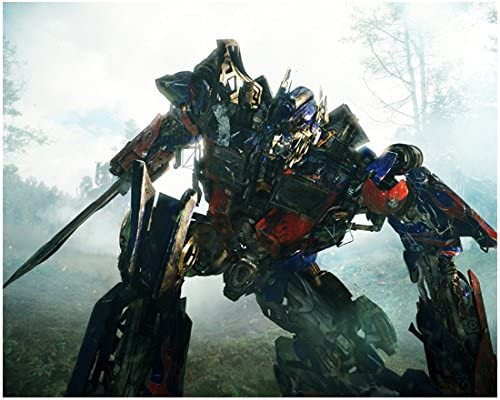 Transformers 2007 8 Inch X10 Inch Photo Red Blue Optimus Prime Kn At Amazon S Entertainment Collectibles Store