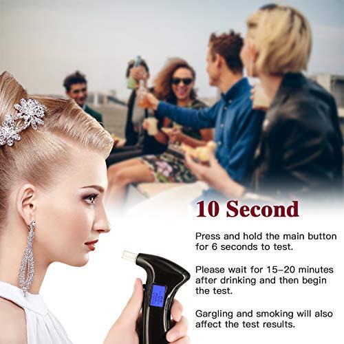 Professional Breathalyzer, Portable Breath Alcohol Tester Digital
