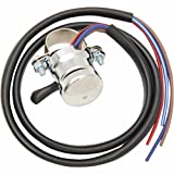 Emgo Lucas Replica Horn/Hi-Low Beam Switch - Black Wire Harness w/ 7/8in. Handlebar Clamp 4668733