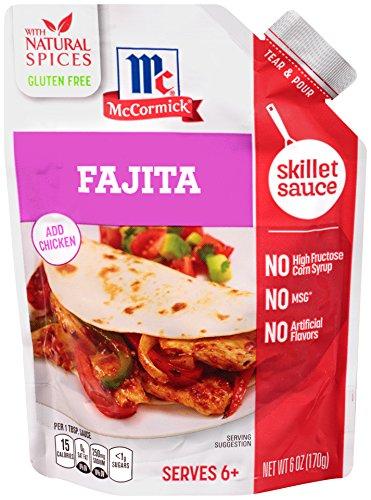 McCormick Fajita Skillet Sauce, 6 oz (Pack of 6)