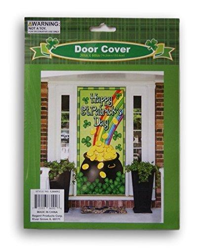 (Happy St. Patricks Day Pot of Gold Door Cover - 30 x)