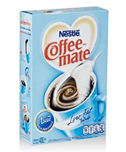 Nestle Coffee Mate Coffee Creamer No Fat Sugar Free 17.6 ...