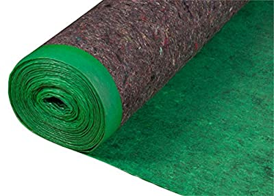 Roberts 70-193A Super 360 sq 60 in. x 72 ft. x 3 mm Felt Cushion Roll for Engineered Wood and Laminate Flooring Underlayment