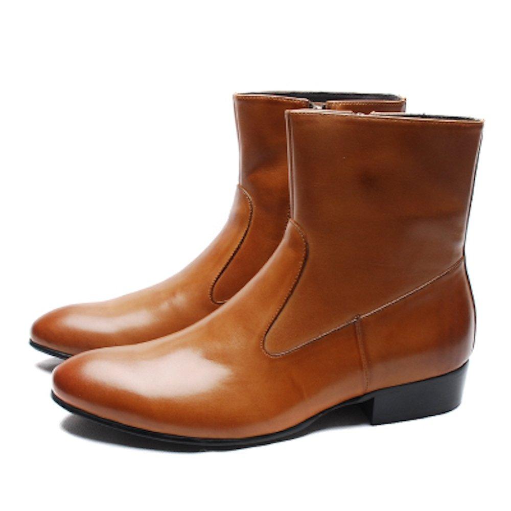 ビジネスシューズ ウォーキングシューズ メンズ ローファー 本革 レザー 紳士靴 革靴 フォーマル B077YTWCS3 25.0 cm|ブラウン ブラウン 25.0 cm