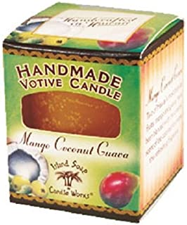 product image for Island Soap & Candle Works Individual Votive Candle, Mango Coconut Guava