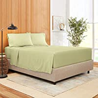 Empyrean Bedding Bamboo Blend 4-Piece Bed Sheet Set – Bamboo and Microfiber Blend – Hotel Luxury Extra Soft Cool Comfy...