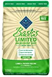 BLUE Basics Limited Ingredient Diet Adult Grain Free Lamb & Potato Dry Dog Food 22-lb