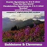 Symphony 9 & 3 Composer's Orig Piano Duet Versions