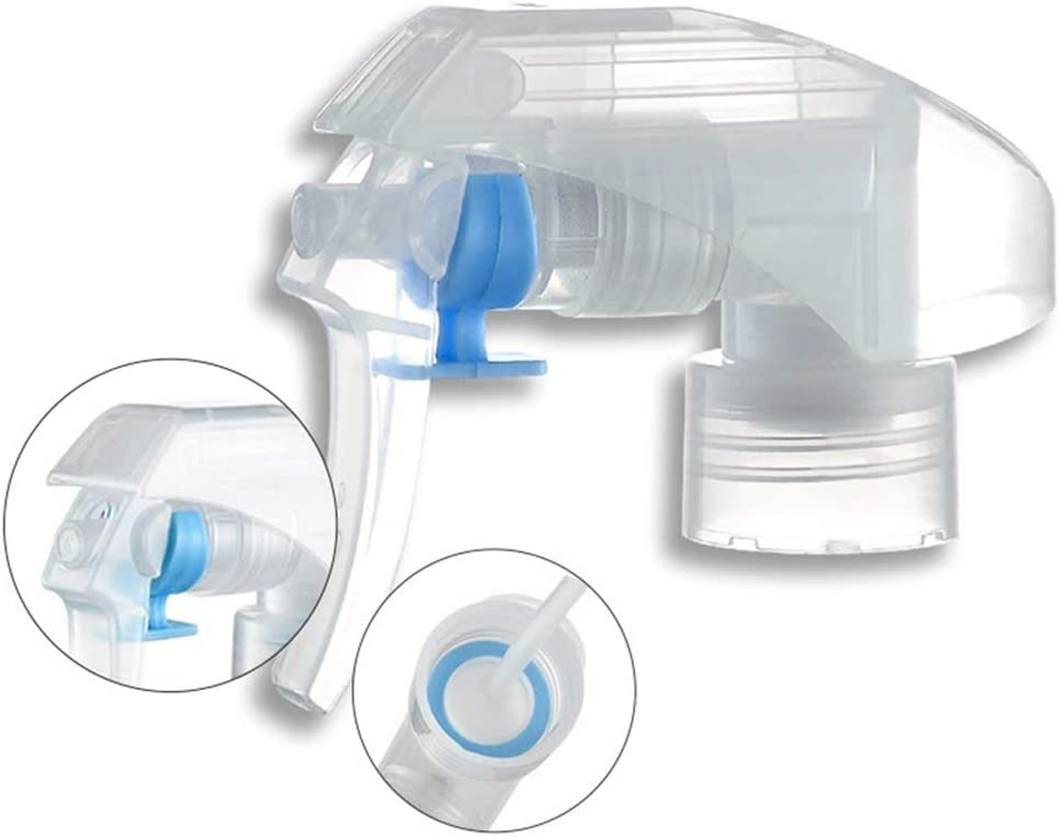 Fanspack 6PCS Spray Bottle Replacement Plastic Multiuse Trigger Spray Top Mist Spray Top