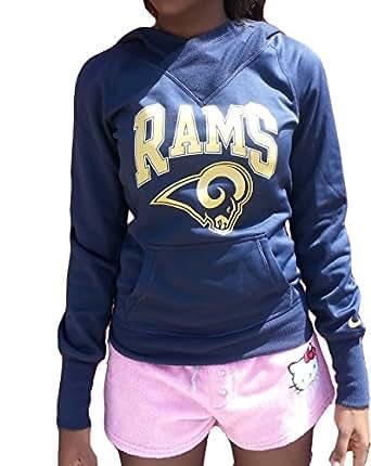 Nike Women's St. Louis Rams Hoodie, Blue, Xs